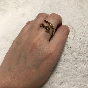 Nail statement ring